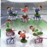 muñecos de pinza futbol