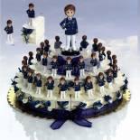 Composicion tarta almirante azul