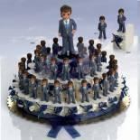 composicion tarta niño de comunion
