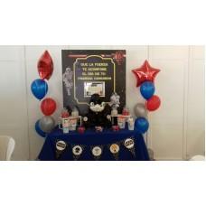 Mesa Dulce Basica + Bouquet de globos personalizados