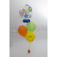 Bouquet de globos cumpleaños 1