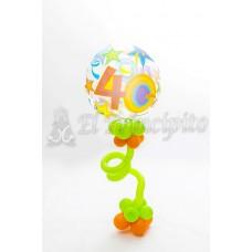 Bouquet de globos cumpleaños 2