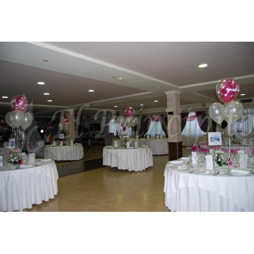 Decoracion salon fucsia y blanco - Decoracion salon blanco ...