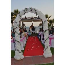 Arco de globos ceremonia civil
