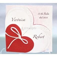 Invitación de Boda Ref 32826 Cardenovel