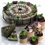 Composicion tarta / Cupcakes