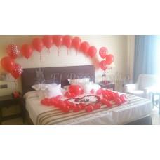 Decoración de dormitorio enamorados